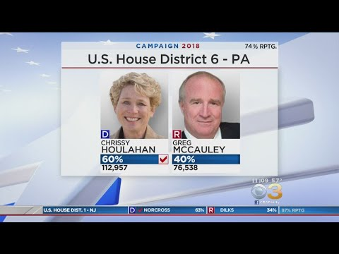 In District 6 Chrissy Houlahan Defeats Greg McCauley