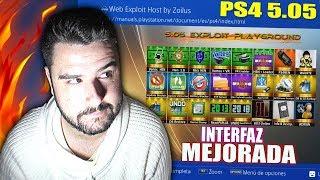 PS4 JAILBREAK 5.05 NUEVAS MEJORAS-INTERFAZ ACTUALIZADA-ESP8266-9BRITO9