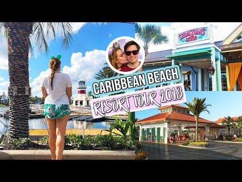 Disney's Caribbean Beach Resort Tour 2018 Post Renovations