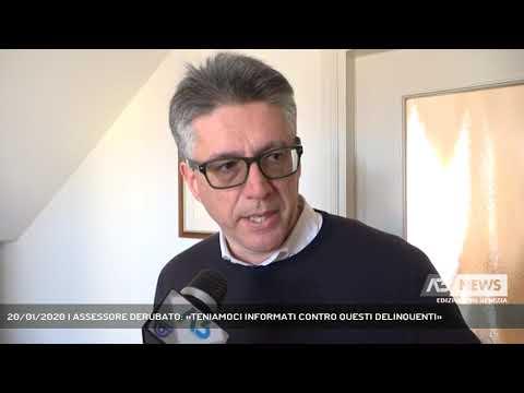 20/01/2020 | ASSESSORE DERUBATO: «TENIAMOCI INFOR...