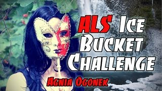 AgniaOgonek Accepts The ALS Ice Bucket Challenge From Kvadriga Stage