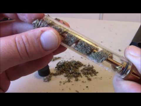 7pipe Glass Blunt unboxing and first smoke