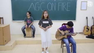 [AGC ON FIRE 3] - Những giấc mơ dài - Ánh Nguyệt ft. guitarist Đức Hạnh, cajon Đức Trung