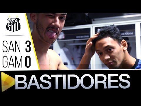 Santos 3 x 0 Gama | BASTIDORES | Copa do Brasil (27/07/16)
