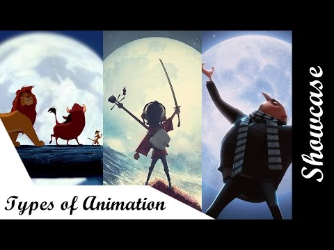 Showcase - 5 Different types of animation - YouTube