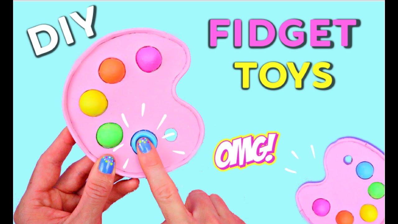 DIY POP IT FIDGET TOYS - How To Make Viral TikTok Fidget Toys Ideas! 💥😍