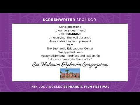 Los Angeles Sephardic Film Festival - Sephardic Educational