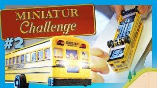 Der Simpsons-Bus fährt nur noch rückwärts - Miniatur Challenge #2