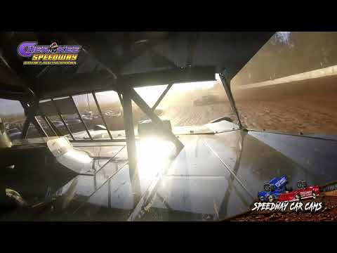 #23 Ryan Gifford - Super Late Model - Heat & Feature - 1-26-20 Cherokee Speedway - In-Car Camera