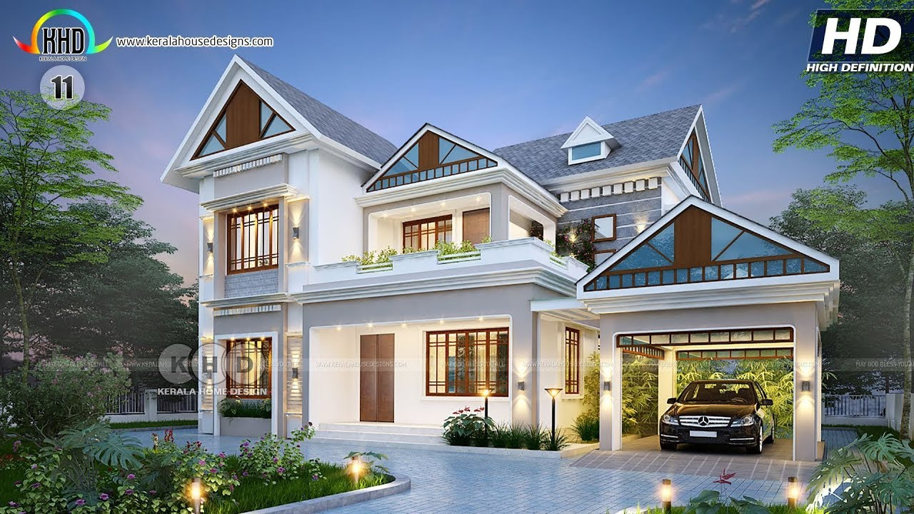 Best 60 House Designs Of August 2018 Youtube