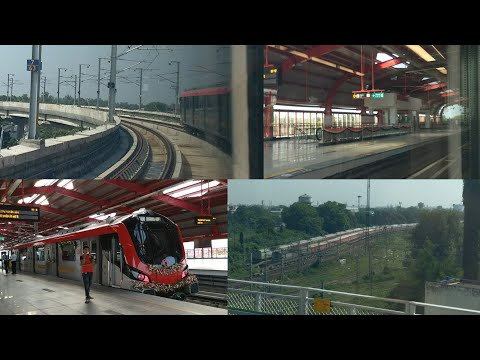 93.Lucknow Metro|Journey Compilation|Inauguration||Charbagh to Transport Nagar||First Commercial Run thumbnail