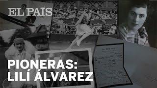 Pioneras del deporte: Lilí Álvarez