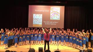 Fairfield Methodist School (primary) choir sings
