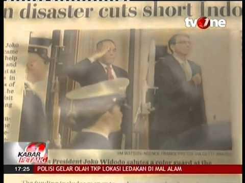 Koran Elit AS, The Washington Post, Salah Pasang Foto Presiden Jokowi