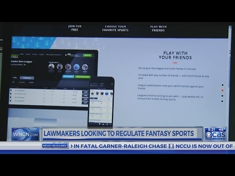Republican lawmaker looks to regulate fantasy sports in NC