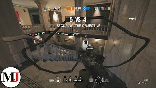 Fastest Ranked Round Ever - Rainbow Six Siege