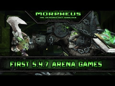 First 3v3 Arena Games 5.4.7 (Demo Lock PvP)