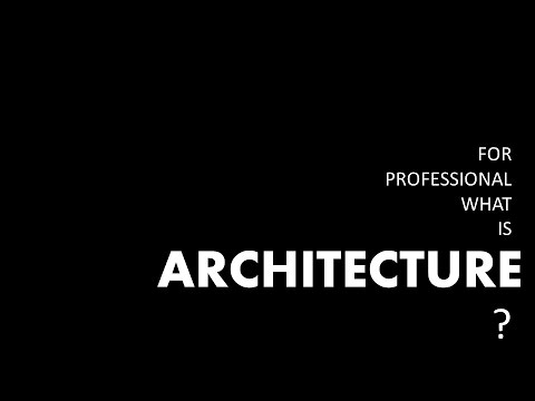 Architect Speaks 1 - Part 2 - Professional Practice in Architecture - Ar. Prajwal Hada