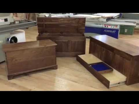 QLine Hope Chest With hidden compartments