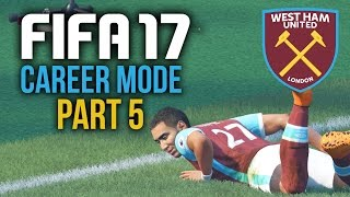 FIFA 17 Career Mode Gameplay Walkthrough Part 5 - PAYEETTTTTT !!! (West Ham)