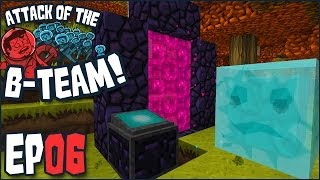 "Minecraft - Attack Of The B-Team Ep 06 - ""The Portal With TWO BRAINS!!!"" (B-Team Modpack)"