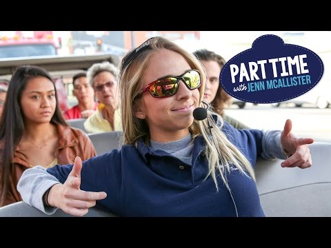 JennXPenn Gives Hollywood Tours | Part Time W/Jenn McAllister