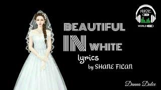 BEAUTIFUL IN WHITE (lyrics) by SHANE FILAN