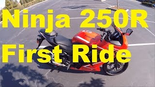 First Ride! Is 250CC Enough? - 2012 Kawasaki Ninja 250R