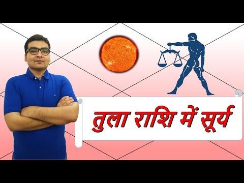 तुला राशि में सूर्य के परिणाम (Sun In Libra) | ज्योतिष (Vedic Astrology) | हिंदी (Hindi)