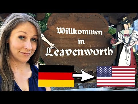 Lederhosen and Currywurst in Leavenworth