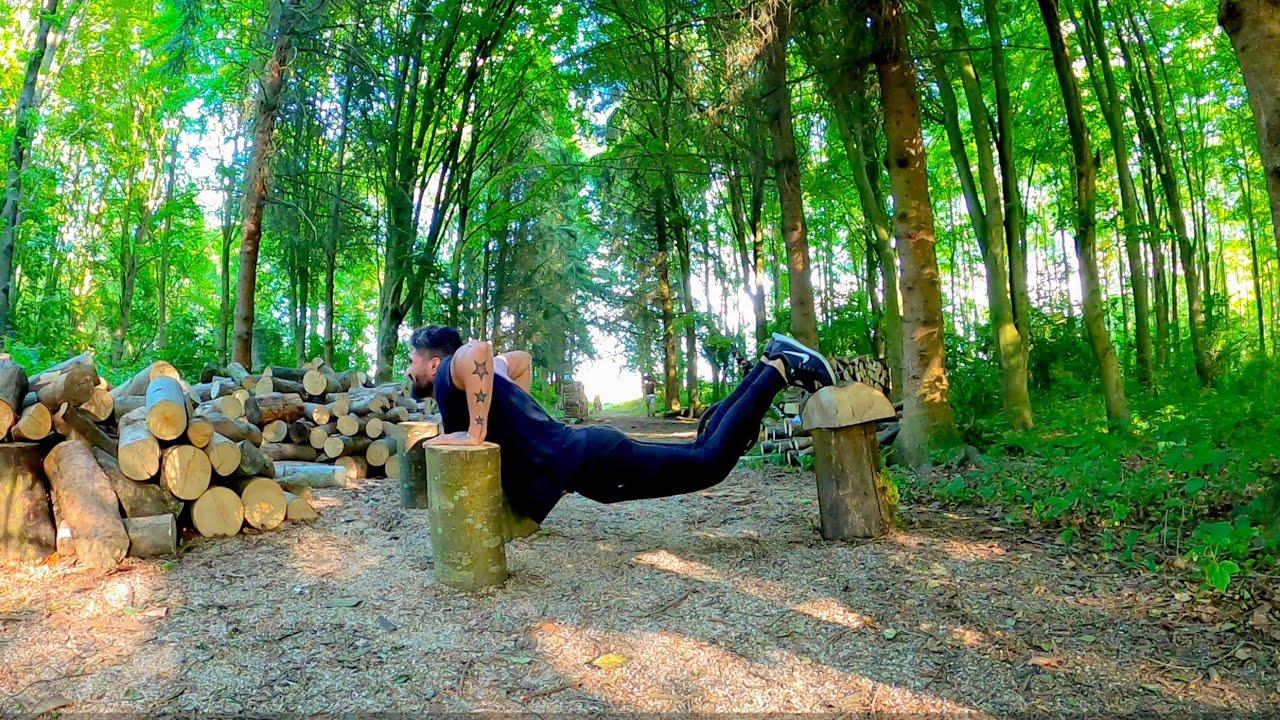 عشت يوم كامل في الغابة