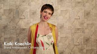 Oriflame India Brand Ambassador, Kalki Koechlin Wishes Happy Diwali