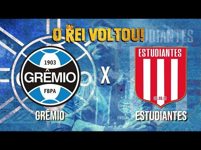 O Retorno do Rei as quadras - Grêmio x Estudiantes - AO VIVO!