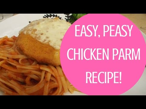 Easy Peasy Chicken Parmesan Recipe {Cook With Me!}