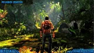Uncharted Golden Abyss - All Treasure Locations - Chapter 1