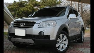 Daewoo Winstorm Diesel 4WD SUV дэу винсторм дизель внедорожник авто автомобиль car auto...