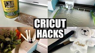 CRICUT HACKS, TIPS, AND TRICKS