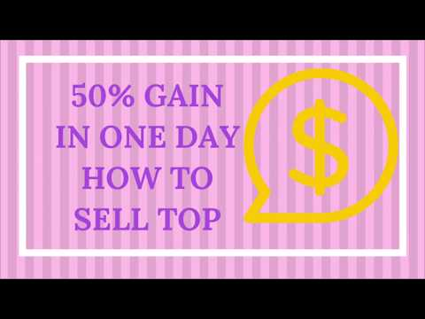 Forex strategy gave me 50% profit in one day trading. Selling TOP with renko candles.
