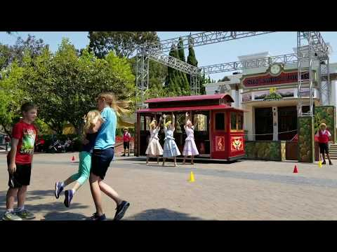 Cable Car Connection - California's Great America Full Show