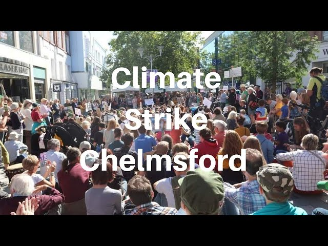 Climate Strike in Chelmsford
