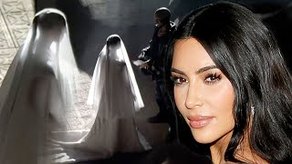Kim Kardashian and Kanye West Recreate WEDDING at Donda Event