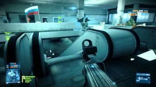 Battlefield 3 Metro Conquest 64 Player PC HD 720P
