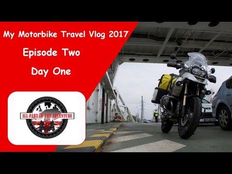 Goodman's Motorbike  Travel Vlog, Trip to France Day1