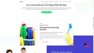 Cleanco - Cleaning Service Company WordPress Theme Isaiah Cassid