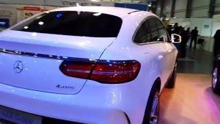 Mercedes-Benz GLE 400 Coupe(Mercedes-Benz GLE 400 Coupe https://youtu.be/nGj1iZOA6Nw Профиль нового Мерседес GLE Coupe 2015-2016 отличается высокой подоконной линией, ..., 2015-12-26T18:51:12.000Z)