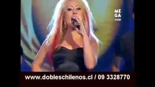 Cristina Aguilera dobles chilenos