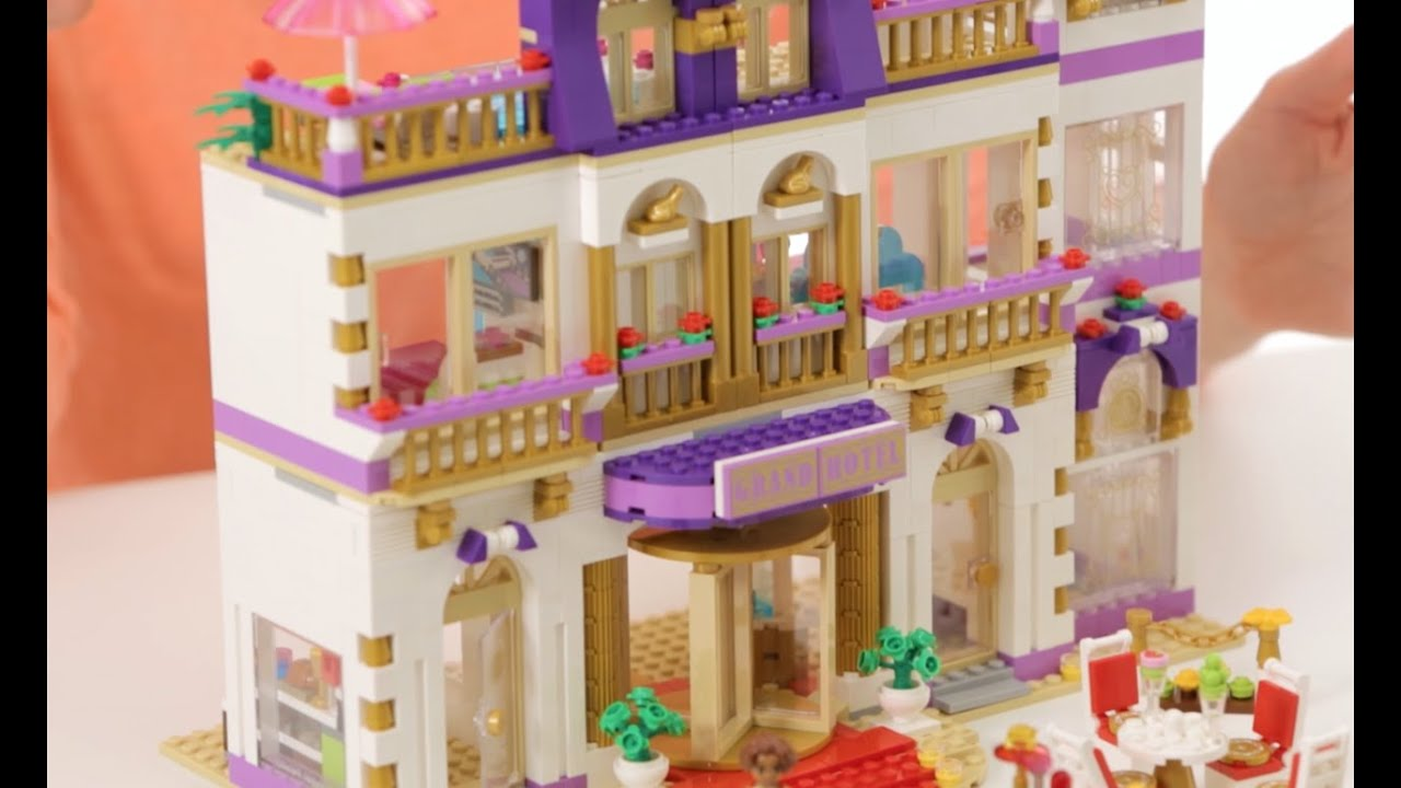 Heartlake Grand Hotel Lego Friends On The Table 41101 Youtube