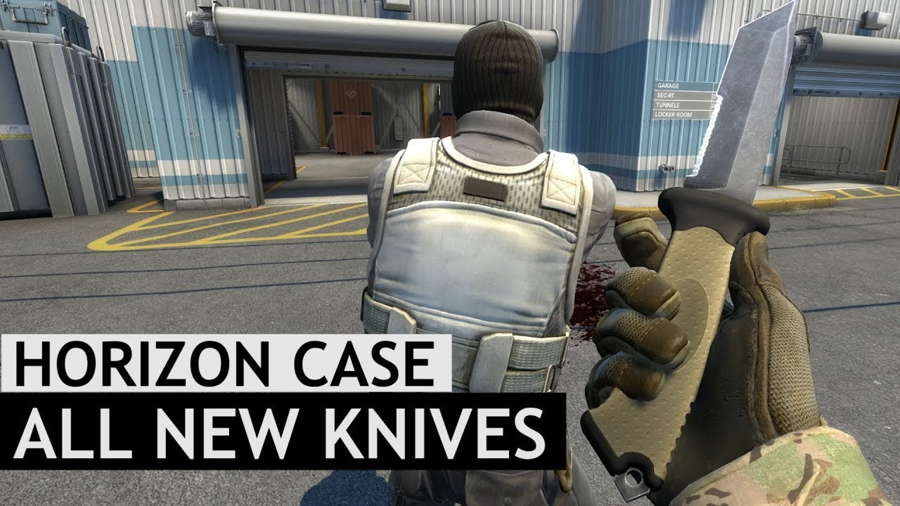 All New Horizon Case Knife Animations | CS:GO
