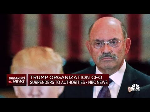 Download Trump Organization CFO surrenders to authorities: NBC News