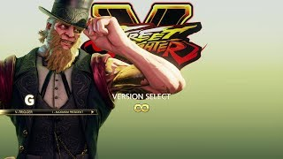 Street Fighter 5 Arcade Edition - G Arcade Mode Playthrough